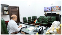 Amit Shah Reviews Preparedness To Tackle Cyclone Yaas In North East States