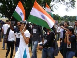 India Against Corruption Freedom Park Bangalore Aid