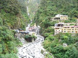 India Manikarnika Temple In Uttarkashi Swept Away By Bhagirathi