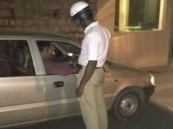 Booked Drunk Driving Bangalore On Saturday Night