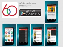 Download 60 Seconds Now App In Ios Version Too By Oneindia Com