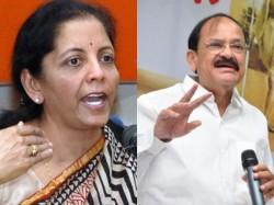 Venkayyasakkayya Campaign Mp Nirmala Sitharaman Takes Oath Kannada