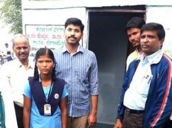 Student Mallamma Hunger Strike Successful To Get Toilet