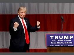 Us Election 2016 Donald Trump Leading Hillary Cinton
