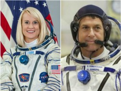 Us Astronauts Cast Vote From Space