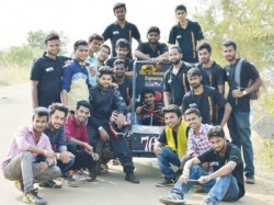 Vivekananda Engineering College Students Developed A Racing Car In Puttur