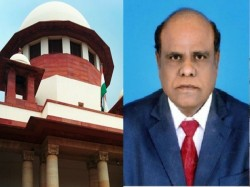 Sc Bars Justice Karnan From Judicial Work Issues Contempt Notice