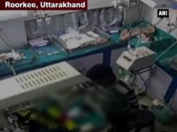 Hospital Warden Breaks Infants Leg For Crying
