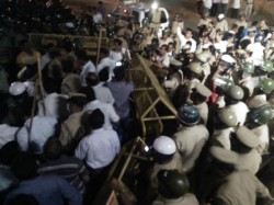 Tumkur Police Stopped Rss Rally Anticipating Communal Clash