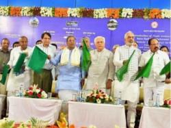 Cm Siddaramaiah On Commencement Sub Urban Rail Work