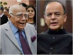 Jaitley Vs Jethmalani When Two Legal Doyens Came Face To Face