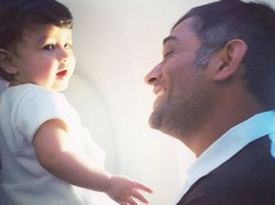 Baby Ziva Learns Names Ipl Teams From Sakshi Dhoni