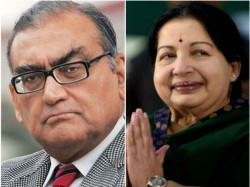 I Had A Crush On Jayalalithaa Markandey Katju On Facebook
