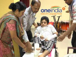 Heart Melting Story Young Boy Arjun Who Wrote His Puc Exam On Wheelchair In Mangaluru
