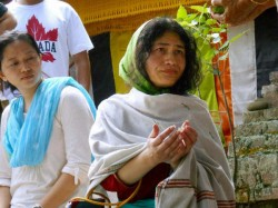 Muscle Money Power Openly Used By Parties Irom Sharmila On Exit Polls