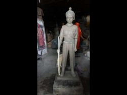 Siachen Braveheart Bronze Statue Of Hanumanthappa Koppad Nears Completion