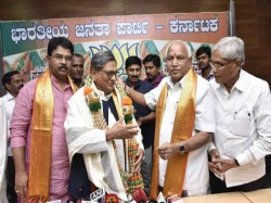 After Sm Krishna Joins Bjp Party Confident To Win 175 Seats In Assembly Election