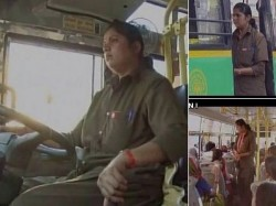 Karnatakas First Woman Driver For State Owned Transport Corporation