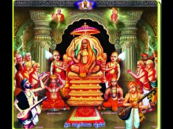 National Institute Vedic Sciences Vyasaraja Utsav Srirangam
