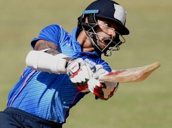 Deodhar Trophy Dhawan S Flashy Ton Helps India Red Down India Blue