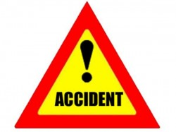 Injured As Bus Topples On Highway