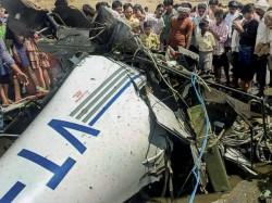 Killed In Trainee Aircraft Crash Near Gondia In Maharashtra