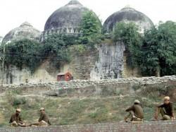 Babri Masjid Demolition Timeline The 25 Year Old Case