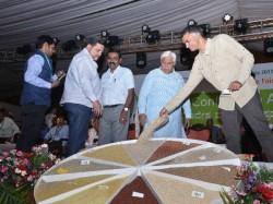 Krishna Byre Gowda Inaugurated National Millets And Organics Trade Fair