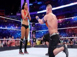 Video Wwe John Cena Proposes Nikki Bella At Wrestlemania