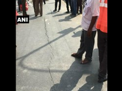 Cracks On Chennai Road Stop Traffic Again 2 Days After Cave In