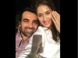 Ipl 2017 Zaheer Khan Sagarika Ghatge Engaged
