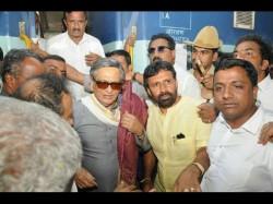 Sm Krishna In Mysuru Expresses Hope To Bjps Win