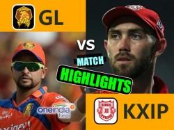 Ipl 2017 Match 26 Highlights Gujarat Lions Vs Kings Xi Punjab