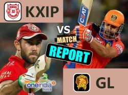 Ipl 2017 Match 26 Report Gujarat Lions Vs Kings Xi Punjab