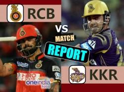Ipl 2017 Match 27 Report Kolkata Knight Riders Vs Royal Challengers Bangalore
