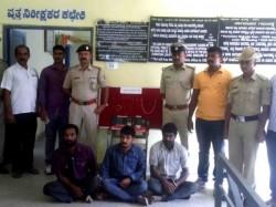 Highway Robbers Arrested In Ramanagar