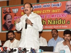Congress Was A Government Of Scams Venkaiah Naidu