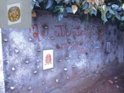 Bengalurina Kathegalu Photo Of Gods Guarding House Compounds