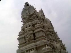 Kukke Subrahmanya Temple Tower Damaged Bythunderbolt