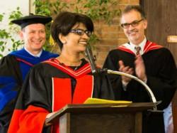 Mangalorean Precilla Vegas Facing Terminal Cancer Receives Her Phd In Canada