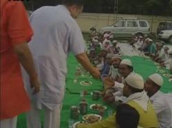Rss S Muslim Wing Organises Iftar In Ayodhya