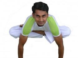 Meet Yoga Guru Shivaraja Eeshwarappa Of Mallige Village Of Hubli