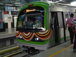 Namma Metro S Green Line Cover Sampige Road To Yelachena Halli Route Inaugurated