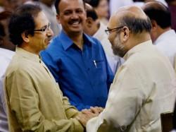 Bjp President Amit Shah Meets Uddhav Thackeray
