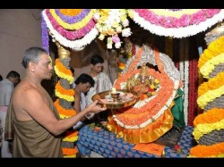 Special Prayers Begin Chamundeshwari Temple On Ashada Friday At Chamundi Hills