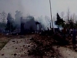 Madhya Pradesh Explosion At Firecracker Factory Kills Many In Balaghat