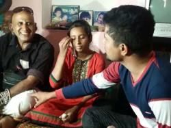 Pratham Gives Financial Support Gangadhar Family In Mysuru