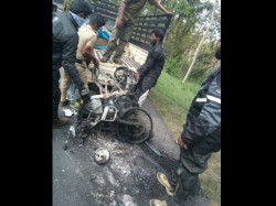 Man Dies In An Accident In Gundlupet Region