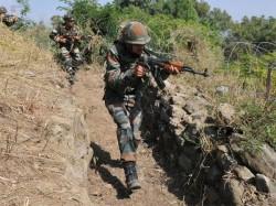 Terrorists Gunned Down In Sopore Encounter J K