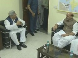 Presidential Election Naidu And Rajnath Meet Yechury